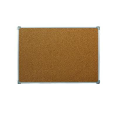 Доска пробковая 60х90 см металлическая рама