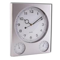 Часы настенные Масма Олимп с термометром и гигрометром (27.5x32x2.5 см)