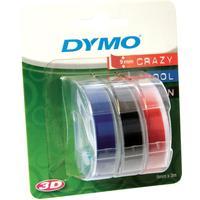 Картридж для принтера этикеток DYMO S0847750 (9 мм x 3 м, цвет ленты синий/черный/красный, шрифт белый)