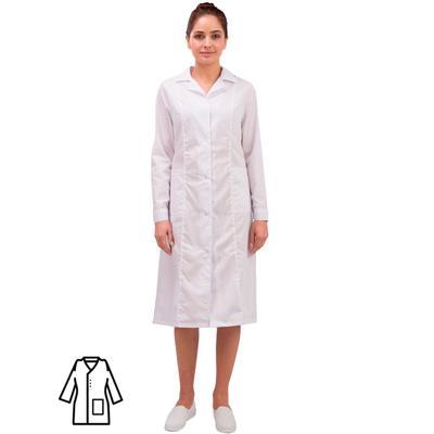 Халат женский Медик м04-ХЛ белый (размер 56-58, рост 170-176)