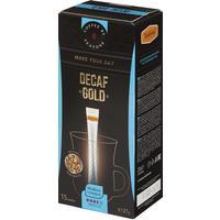 Кофе порционный растворимый Teatone декофеинизированный 15 стиков по 2 г