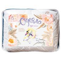 Одеяло Акварель 140х205 см искусственный лебяжий пух/полиэстер стеганое