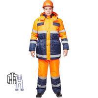 Костюм зимний Спектр-2 куртка и полукомбинезон (размер 60-62, рост 182-188)