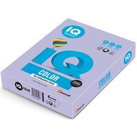Бумага цветная для печати IQ Color фиолетовая медиум LA12 (А4, 80 г/кв.м, 500 листов)