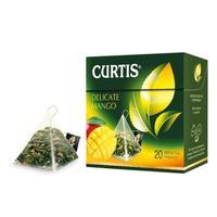 Чай Curtis Delicate Mango Green Tea зеленый 20 пакетиков