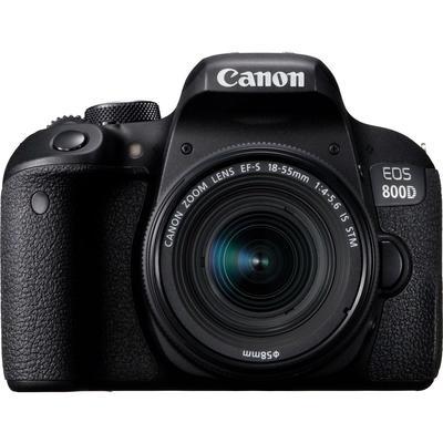 Цифровой зеркальный фотоаппарат Canon EOS 800D kit 18-55 IS STM