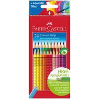 Карандаши цветные Faber-Castell Grip 24 цвета трехгранные