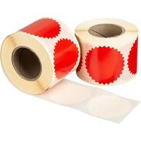 Термоэтикетки 52х52 мм Eco (диаметр втулки 40 мм, 500 штук в рулоне)