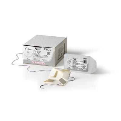 Шовный материал ПДС 2 нить 70 см игла колющая 20 мм (36 штук в упаковке)
