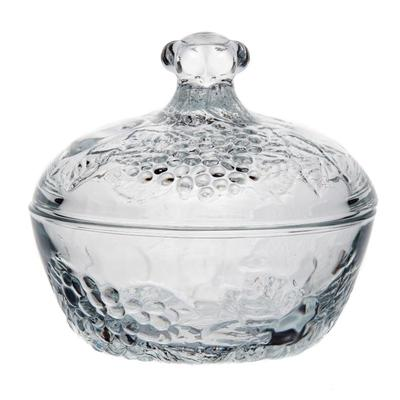 Сахарница F&D Пикник стеклянная прозрачная 400 мл (артикул производителя 97556BFD)