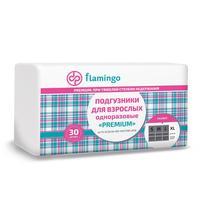 Подгузники для взрослых одноразовые Flamingo Premium XL (30 штук в упаковке)