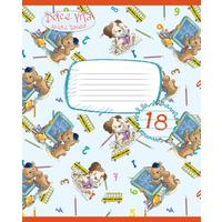 Тетрадь школьная Academy Style Amore Tenero А5 18 листов в линейку на скрепке (обложка в ассортименте)