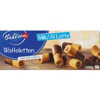 Вафельные трубочки Bahlsen Waffeletten 100 г