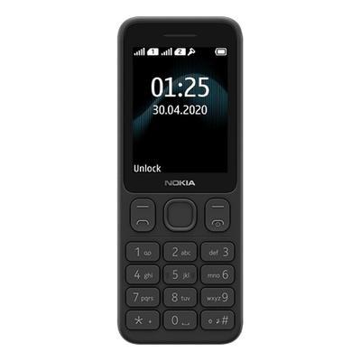 Мобильный телефон Nokia 125 DS TA-1253 черный (16GMNB01A17)