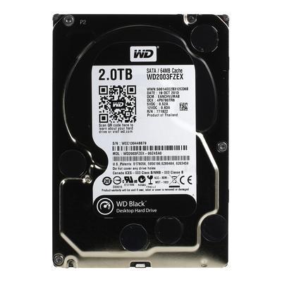 Жесткий диск WD Black 2 ТБ (WD2003FZEX)
