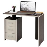 Стол компьютерный Слим-1 (венге/дуб молочный, 1030x750x500 мм)