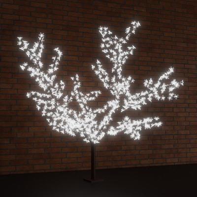 Дерево светодиодное Сакура белое 1728 диодов (2x2.4 м)