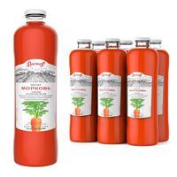 Нектар Barinoff морковный с мякотью 1 л (6 штук в упаковке)
