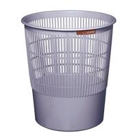 Корзина для мусора Стамм 18 л пластик серая (29.5х33 см)
