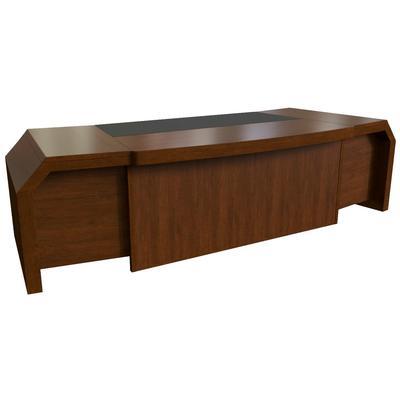 Стол руководителя письменный Kingston 28101 (темный орех, 2900x1100x750  мм)