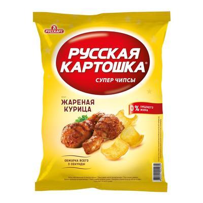 Чипсы Русская картошка со вкусом курицы 80 г