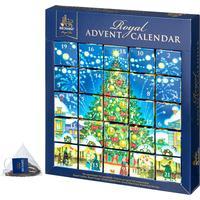 Чай Richard Royal Advent Calendar Новогодние пазлы ассорти 25 пакетиков