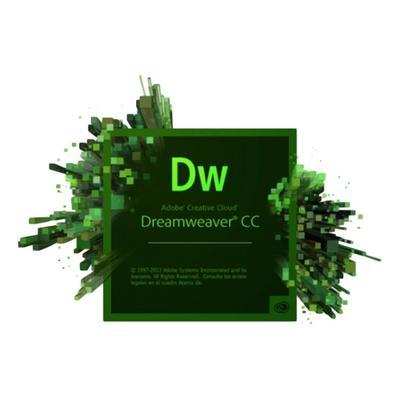 Программное обеспечение Dreamweaver CC for teams Multiple Platforms Multi European Languages Level 1 (1 - 9) Commercial Renewal
