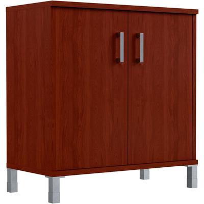Шкаф низкий Born B-410.2 закрытый (бургунди, 900х450х920 мм)