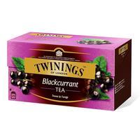 Чай Twinings Blackcurrant Tea черный 25 пакетиков