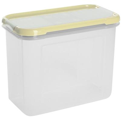 Банка для сыпучих продуктов Plastic Republic Krupa пластиковая с дозатором 1 л (артикул производителя GR2236)