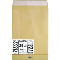 Пакет Extrapack B4 (250x353 мм) из крафт-бумаги 120 г/кв.м стрип (25 штук в упаковке)