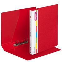 Папка на 2-х кольцах Attache 42 красная до 250 листов (пластик 0.7 мм)