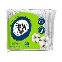 Палочки ватные Emily Style 100 штук в упаковке