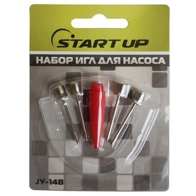 Набор игл для насоса Start Up JY-14B (4 штуки + переходник)