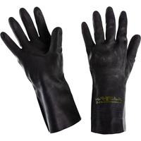 Перчатки КЩС Ansell AlphaTec Экстра 87-950 латекс черные (размер 10, XL)