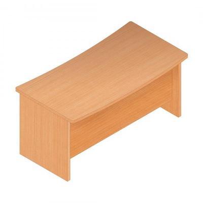 Письменный стол Статус А (бук светлый, 1700х860х780 мм)