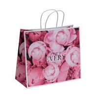 Пакет подарочный из крафт-бумаги Enjoy every moment (28x32x15 см, 6 штук в упаковке)