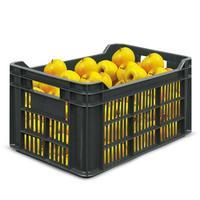 Ящик (лоток) фруктовый из ПНД 500х300х264 мм черный