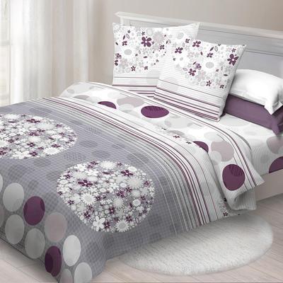 Постельное белье Спал Спалыч Контраст (2-спальное с европростыней, 2 наволочки 70х70 см, бязь)