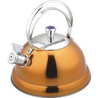 Чайник со свистком Bekker De Luxe нержавеющая сталь 2.6 л в ассортименте (BK-S440)