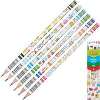 Набор чернографитных карандашей №1 School HB заточенные (6 штук в упаковке)