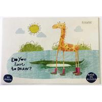 Альбом для рисования Kroyter Жираф А4 30 листов