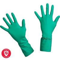 Перчатки нитриловые Vileda Professional Универсальные зеленые (размер 7.5-8, M, артикул производителя 100801)