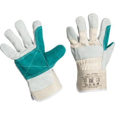 Перчатки защитные спилковые комбинированные усиленные