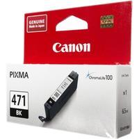 Картридж струйный Canon CLI-471 BK 0400C001 черный оригинальный