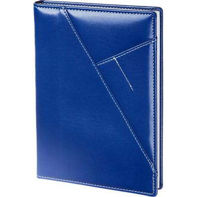 Ежедневник недатированный InFolio Portland искусственная кожа А5 160 листов синий (140х200 мм)