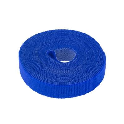 Стяжка Rexant многоразовая 5м х 20мм синяя 1 штука