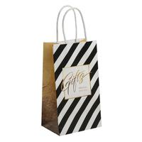 Пакет подарочный из крафт-бумаги Gifts (21x12x9 см, 12 штук в упаковке)