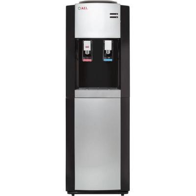 Уценка. Кулер для воды AEL LC58b черный/серебристый. уц_тех