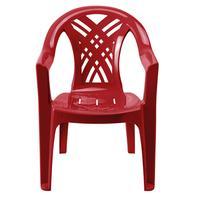 Кресло пластиковое Престиж-2 №6 вишневое